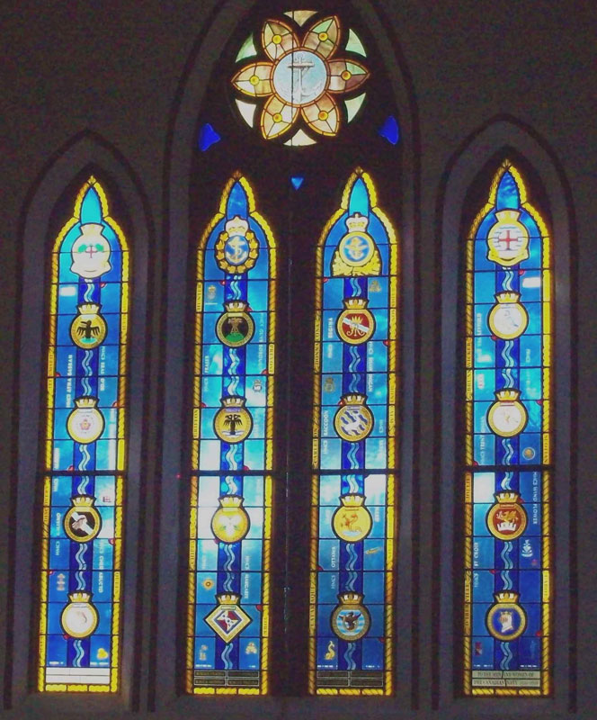 Memorial Window, St. Paul's Anglican Church, Esquimalt